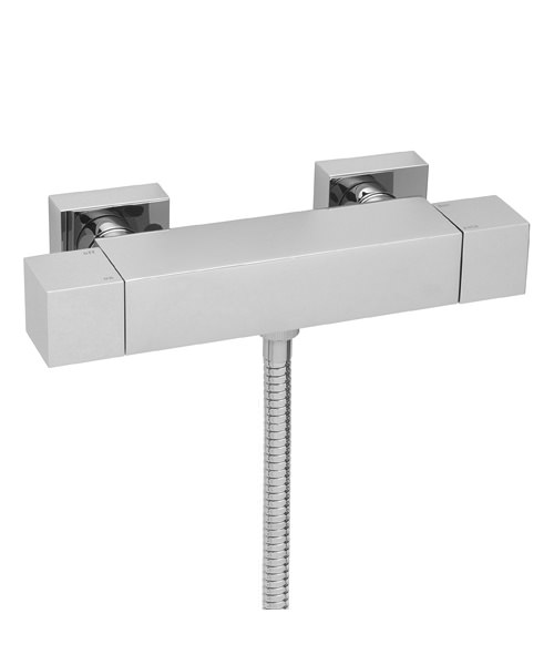 Tre Mercati Edge Exposed Thermostatic Shower Valve Chrome