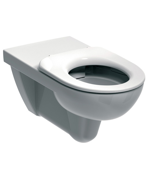 Twyford E100 Round 700mm Rimless Flushwise Wall Hung WC Pan