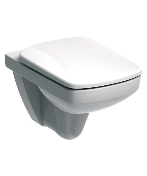 Twyford E100 530mm Flushwise Wall Hung Square Toilet Pan