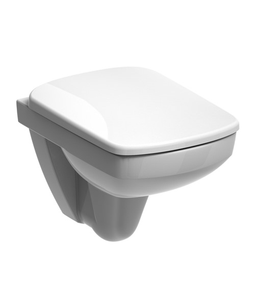 Twyford E200 Flushwise Wall Hung 480mm Compact WC Pan
