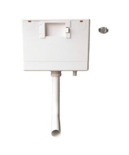 Heritage Caversham Dual Flush Concealed Cistern With Push Button