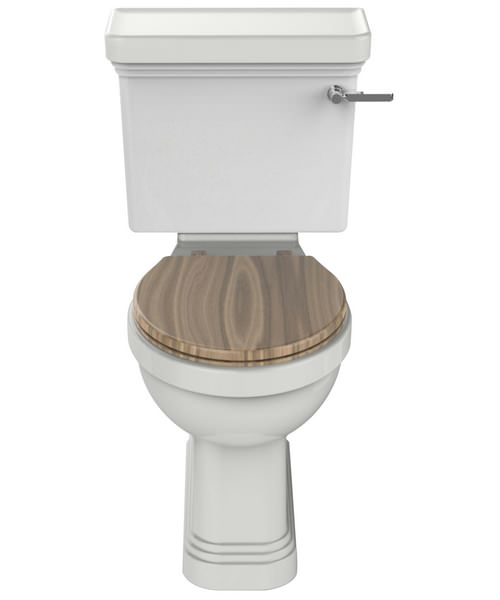 Heritage Wynwood White Comfort Height 730mm Close Coupled WC And Cistern