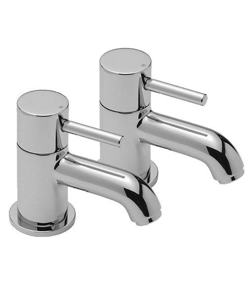 Tre Mercati Milan Pairs Of Basin Taps Chrome