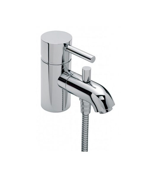 Tre Mercati Milan Mono Bath Shower Mixer Tap With Shower Kit