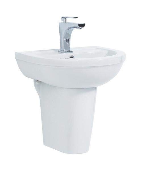 Phoenix Emma 560mm Wide Basin And Semi Pedestal