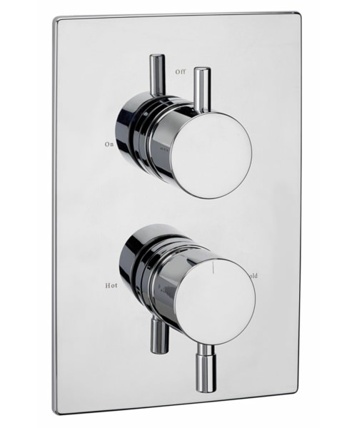 Tre Mercati Milan Concealed Thermostatic Shower Valve With 2 Way Diverter