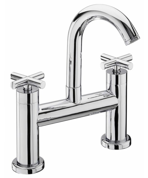 Tre Mercati Maverick Pillar Bath Filler Tap Chrome