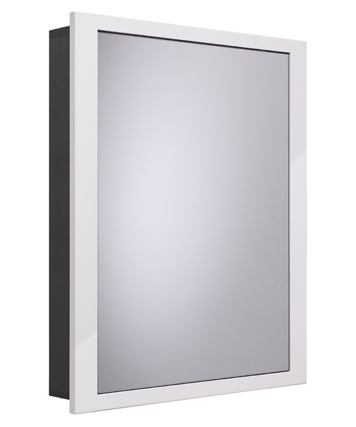 Roper Rhodes Scheme 640mm Recessed Mirror Cabinet For Built-Out Walls