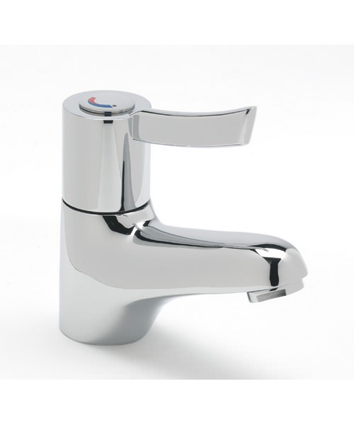 Tre Mercati Capri Lever Sequential Lever Mono Basin Mixer Tap Chrome