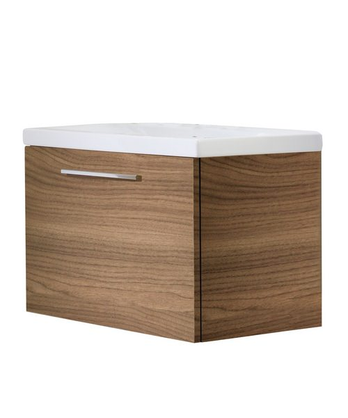 Roper Rhodes Envy Walnut 700mm Wall Mounted Washstation