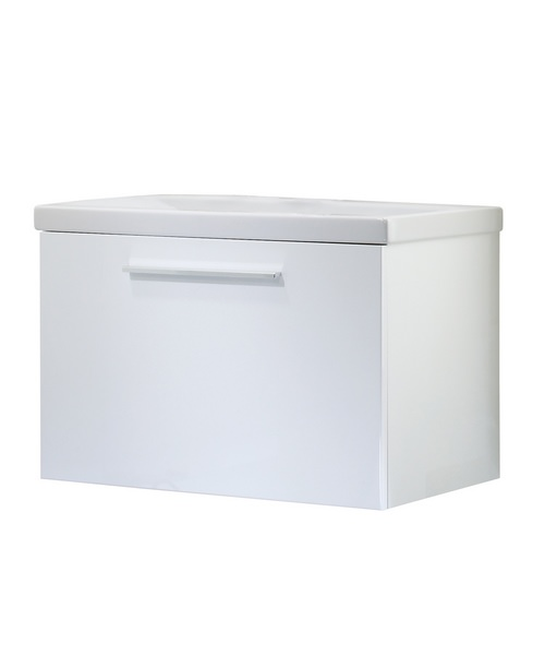 Roper Rhodes Envy White 700mm Wall Mounted Washstation