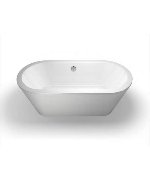 Britton Cleargreen Freestark 1740x800mm Double Ended Freestanding Bath