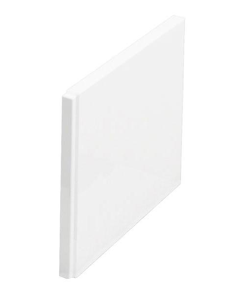 Britton Cleargreen White End Bath Panel 700mm