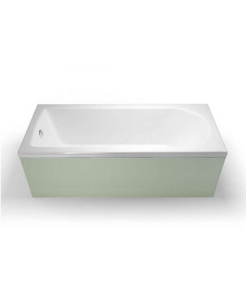 Britton Cleargreen Reuse 1600 x 700mm Single Ended Bath