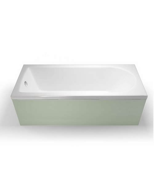 Britton Cleargreen Reuse 1800 x 750mm Single Ended Bath