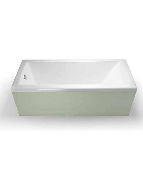 Additional image of Britton Cleargreen Sustain 1700 x 750mm Single Ended Bath