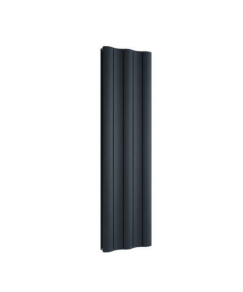 Reina Gio Double Vertical Aluminium Radiator 280 x 1800mm Anthracite