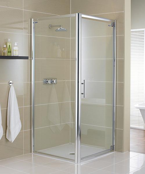 Showerlux Glide 8mm Glass Pivot Shower Door 1000mm & Glide 8mm Glass Pivot Shower Door 1000mm pezcame.com