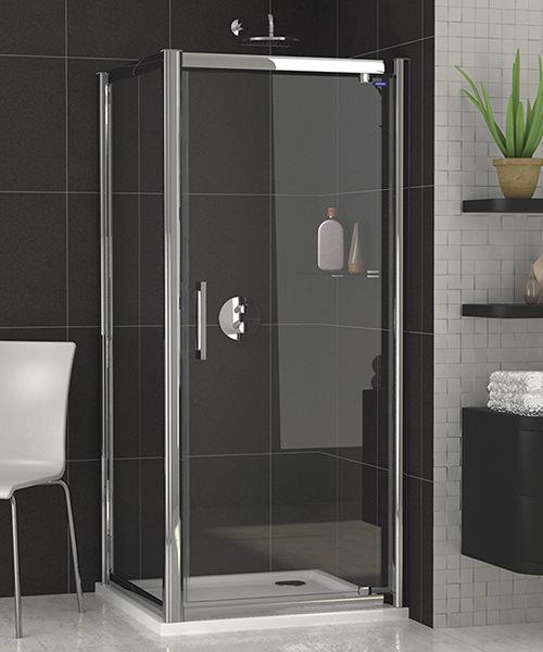 Showerlux Legacy 6mm Glass Pivot Shower Door 700mm