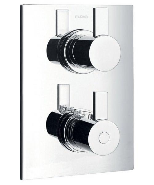 Flova Str8 Concealed Thermostatic Shower Mixer Valve