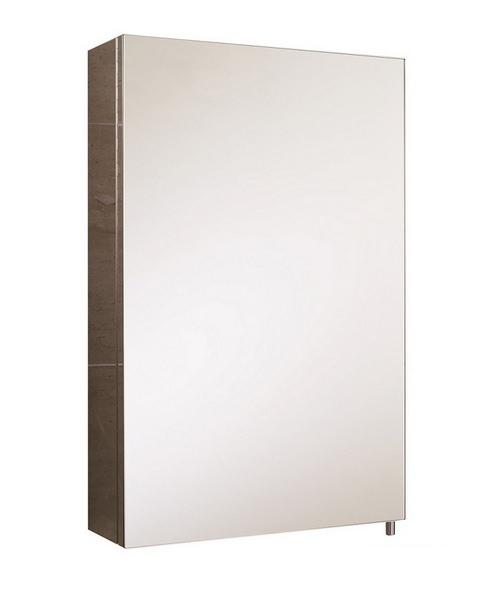 RAK Cube Stainless Steel 1 Door 400 x 600mm Mirror Storage