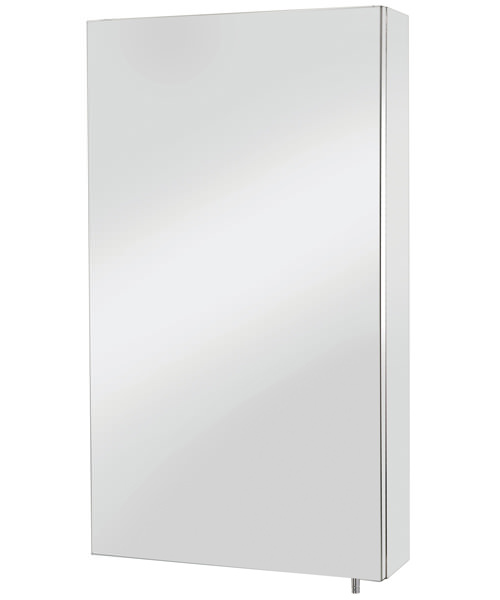 Croydex Anton Single Door Stainless Steel Cabinet