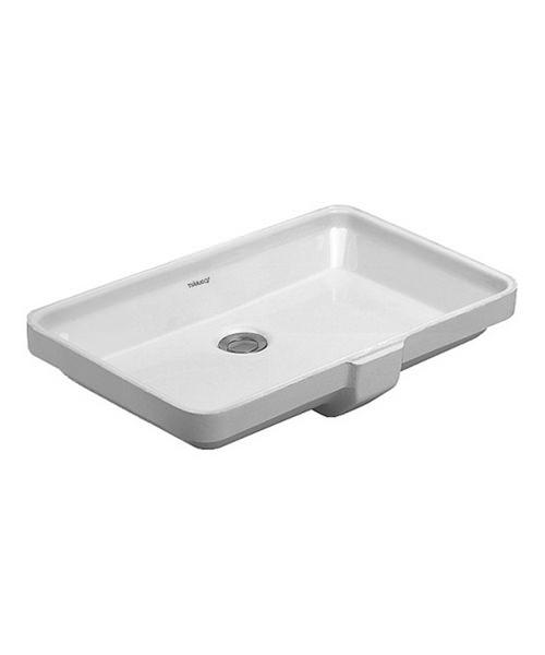 duravit 2nd floor no taphole 525 x 350mm undercounter basin. Black Bedroom Furniture Sets. Home Design Ideas