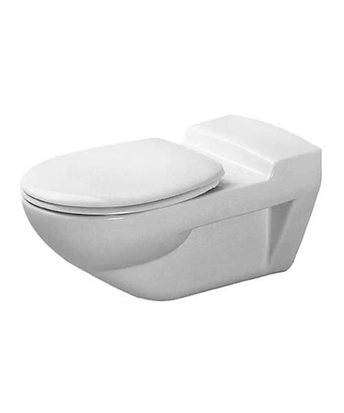 Duravit architec 350 x 700mm wall mounted toilet 0190090000 for Duravit architec tub