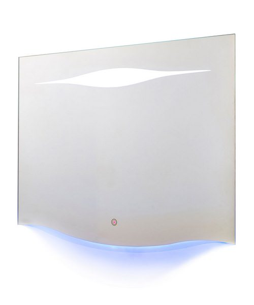 Hudson Reed Iona 900 x 700mm Touch Sensor Ambient Lighting LED Mirror