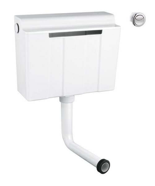 Grohe Dual Flush Concealed Cistern - Bottom Supply - By Grohe