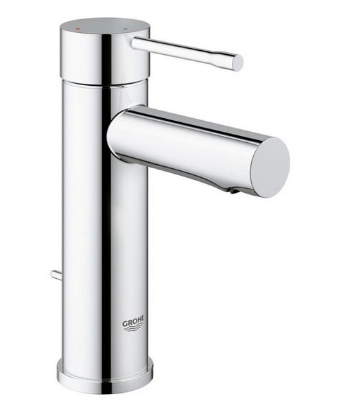 Grohe Essence New S-Size Basin Mixer Tap With Pop Up Waste