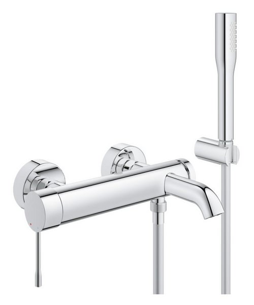 Grohe Essence New Single Lever Bath Shower Mixer With Shower Set