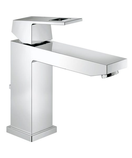 Grohe Eurocube M-Size Half Inch Basin Mixer Tap With Pop Up Waste