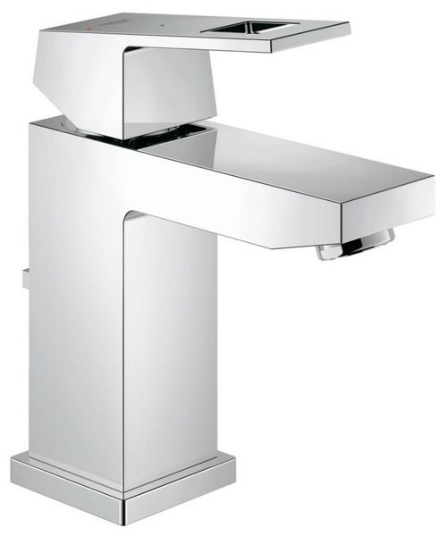 Grohe Eurocube S-Size Half Inch Basin Mixer Tap With Pop Up Waste