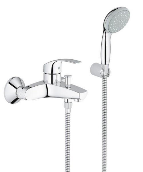 Grohe Eurosmart Single Lever Half Inch Bath Shower Mixer Set