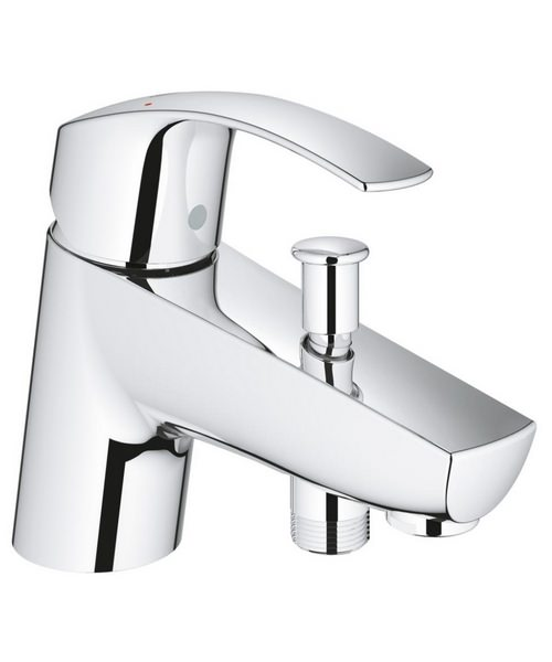 Grohe Eurosmart Half Inch Bath Shower Mixer Single Lever Tap Chrome