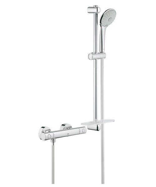 Grohe Grohtherm 1000 Cosmopolitan M Thermostatic Shower Set
