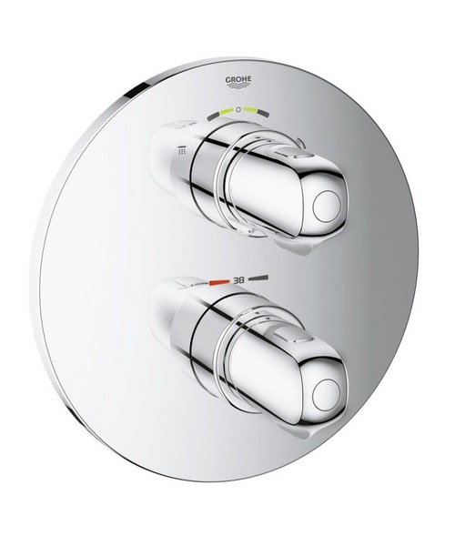 Grohe Grohtherm 1000 New Thermostatic Shower Mixer Valve With 2-Way Diverter