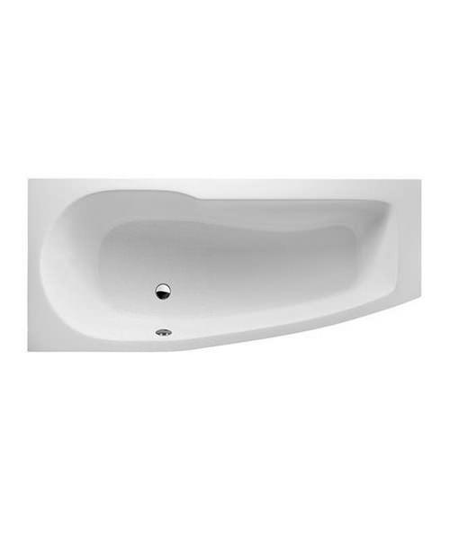 Britton Cleargreen EcoCurve 1700 x 750mm Left Hand Shower Bath