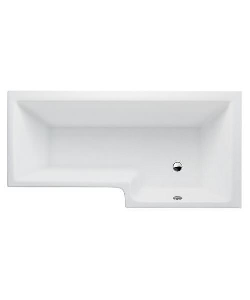 Britton Cleargreen EcoSquare 1700 x 850mm Right Hand Shower Bath