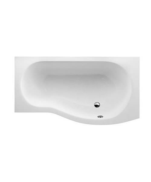 Britton Cleargreen EcoRound Right Hand Shower Bath 1500 x 900mm