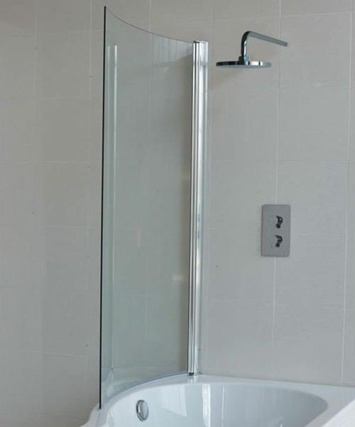 Britton Cleargreen EcoRound Bathscreen 820 x 1450mm