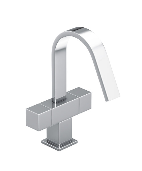 Abode Zeal Monobloc Chrome Basin Mixer Tap