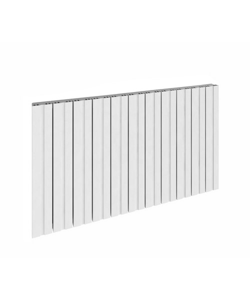 Reina Bova Horizontal Single Aluminium Radiator 1230 x 600mm White