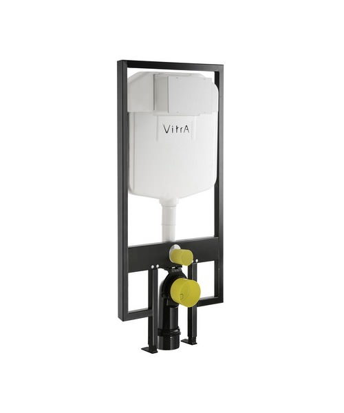VitrA 8cm Floor And Wall Fixation WC Frame With 2.5-4 Litre Cistern