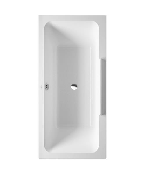 Duravit DuraStyle 1600x700mm Bath With Right Backrest Slope