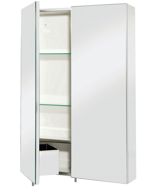 Alternate image of Croydex Colorado Single Door 380 x 670mm Large Cabinet