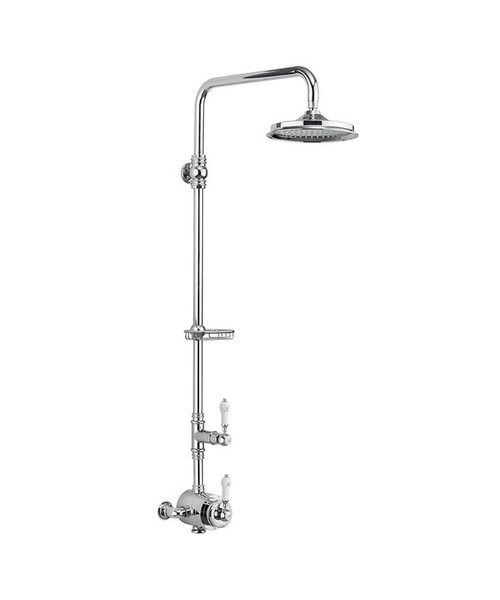 Burlington Stour Single Outlet Exposed Thermostatic Shower Set