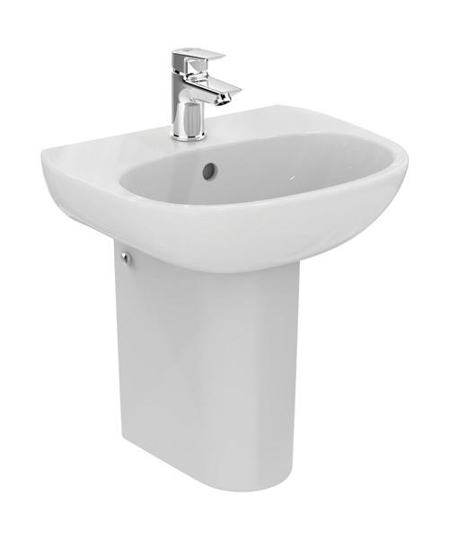Ideal Standard Tesi 450 x 360mm Handrinse Washbasin