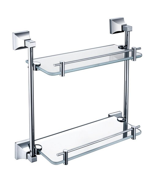 Heritage Chancery 408mm Double Glass Shelf